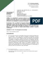 Resolución Nº 3869-2014/SPC-INDECOPI