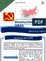 6 Disolución de La URSS