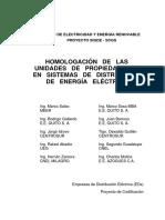 Codificacion y Homologacion de Las Unidades de Propiedad Del Sistema de Distribucion