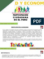 Participación Ciudadana en El Perú