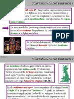 HISTORIA III CONVERSION DE LOS BARBAROS.ppt