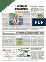 Il Tirreno Prato 12-04-2017 - Calcio Lega Pro