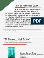 [PD] Presentaciones - El Secreto Del Exito