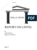 REPORT ON LINTEL.docx