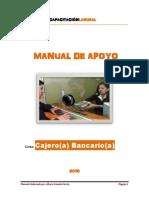 Manual de Apoyo - Cajero Bancario 2016 - Bk Capacitación Laboral