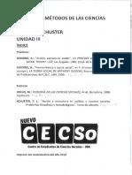 Unidad 3 Completa Filosofía y Métodos de Las Cs. Sociales- Schuster