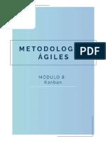 MOOC Metodologias Agiles Módulo 8. Kanban