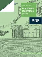 Indicadores Economicos 2010 - 2014 BCR