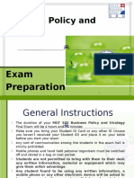 Biz Policy and Strategy - Exam Preparation Slides - 19.9