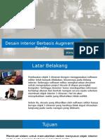 Presentasi AR - Desain interior