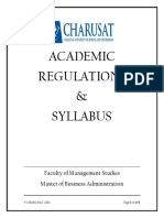Final Mba Syllabus 2015 2017