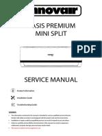 Innovair Premium Oasis Service Manual