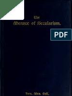 (1912) The Menace of Secularism
