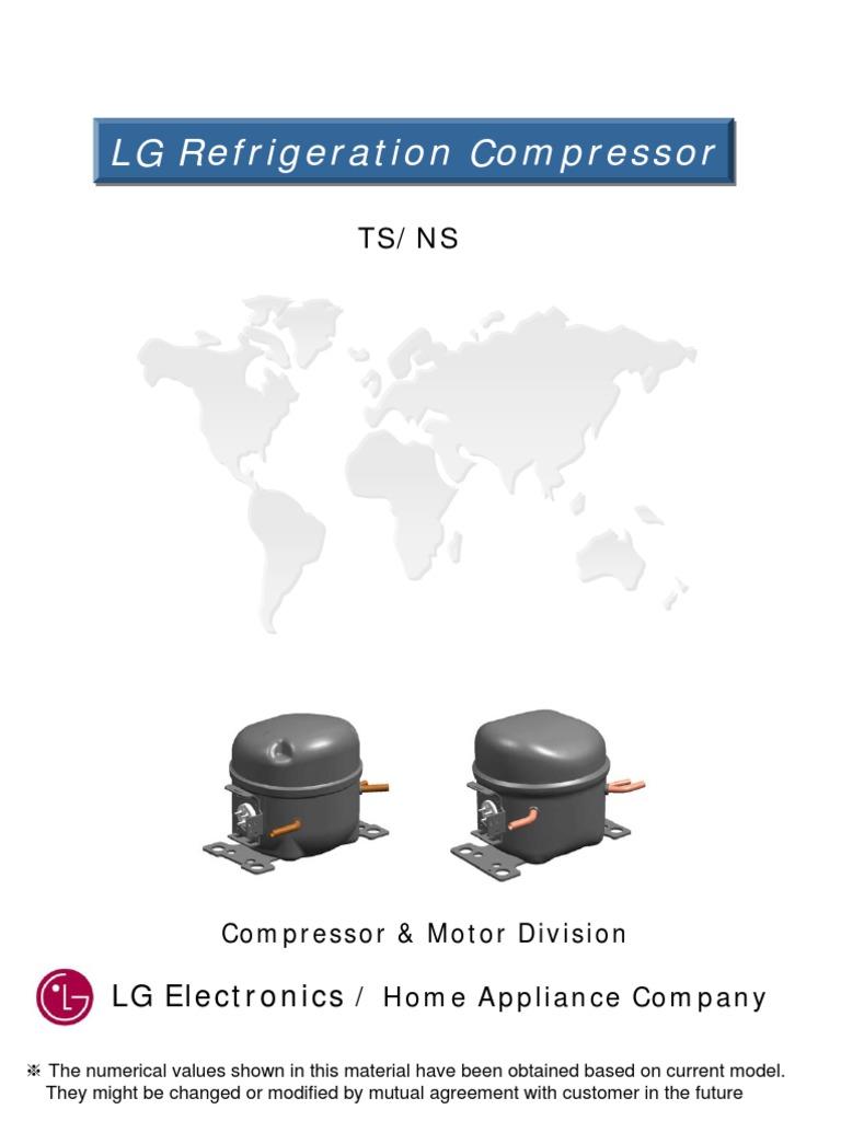 [SCHEMATICS_48ZD]  LG Electronics_Compressor_TS_NS.pdf | Refrigerator | Capacitor | Lg Nsa30lacg Compressor Wiring Diagram |  | Scribd