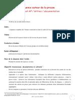 Fiche Peda Presse Revue Presse