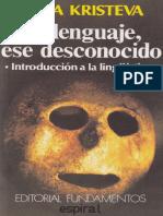 El lenguaje, ese desconocido [Julia Kristeva].pdf