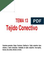 Tema13.TejidoConectivo