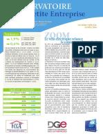 Observatoire de la petite entreprise n°64 FCGA / Banque Populaire