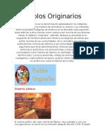 Los Pueblos Originarios-1