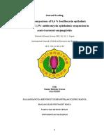 Perbandingan antibiotik topikal pada konjungtivitis