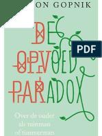 De opvoedparadox - Alison Gopnik (leesfragment)