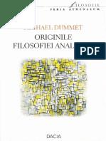 Michael Dummett-Originile filosofiei analitice-Dacia (2004).pdf