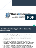 Secure Web Application Development Lifecycle Practitioner (SWADLP)Certification