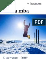 Informator 2017 - Studia MBA - Wyższa Szkoła Bankowa w Toruniu i Bydgoszczy