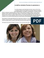 Corrieredellapera.com-Silvia Deaglio La Figlia Dellex Ministra Fornero in Pensione a Soli 39anni