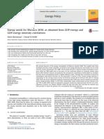 Energy Needs for Morocco 2030 - JEPO 88 (2016) 44-55