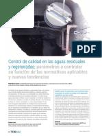 Articulo Tecnico Control Calidad Aguas Residuales Regeneradas Normativas Tendencias Tecnoaqua Es