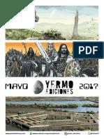 Novedades Yermo Mayo 2017