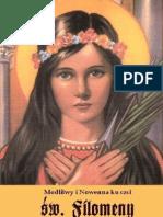Modlitwy i Nowenna do św. Filomeny