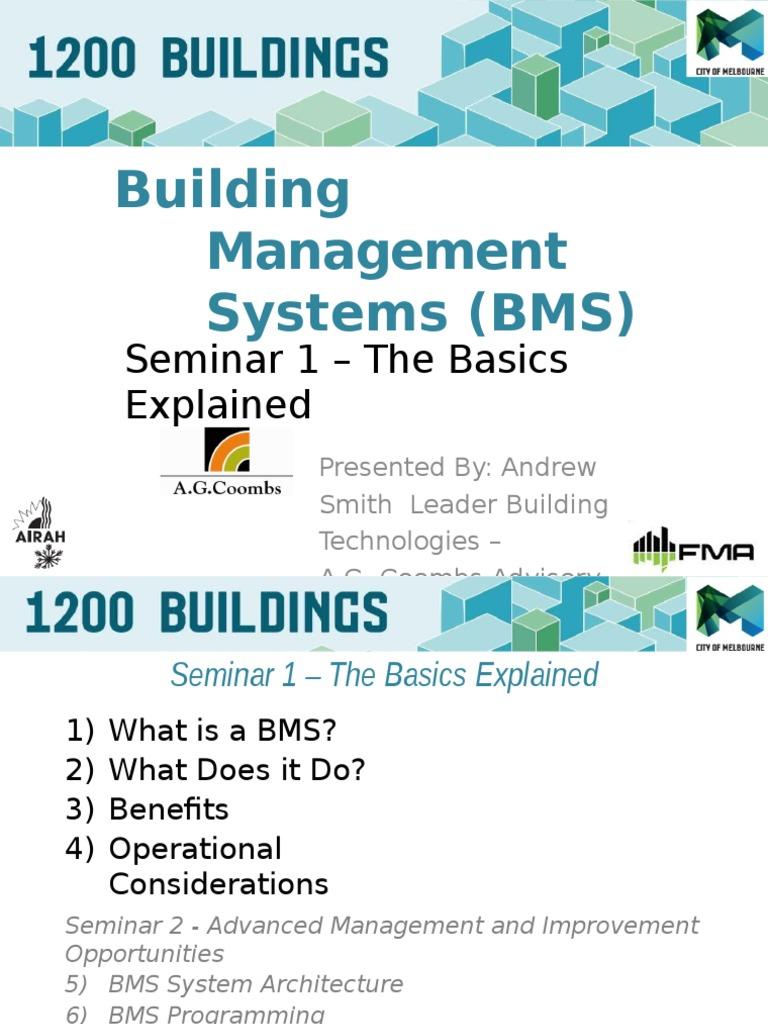 Bms the Basics Explained   Hvac   Program Optimization