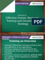Chapter1 Effectivehumanresourcetraininganddevelopmentstrategy 130802105958 Phpapp01