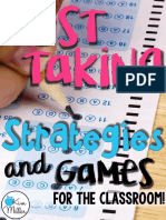 test taking strategies   games for the classroom
