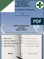 Penyakit Terbanyak Di Masyarakat Posbindu PKM