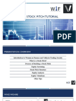 How to Pitch a Stock WIF-VTS Workshop