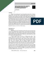 Efisiensi Input Produksi Jagung Komposit