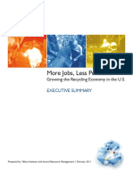 22411 Recycling Jobs Report Executive Summary