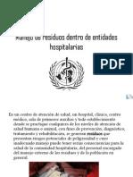 RESIDUOS HOSPITALARIOS