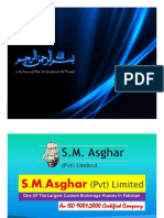 INTRODUCTION - S.M.ASGHAR (Pvt) LIMITED