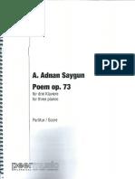Saygun, Poem Op.73