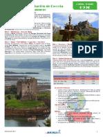 Degustación de Escocia + Edimburgo 5 días