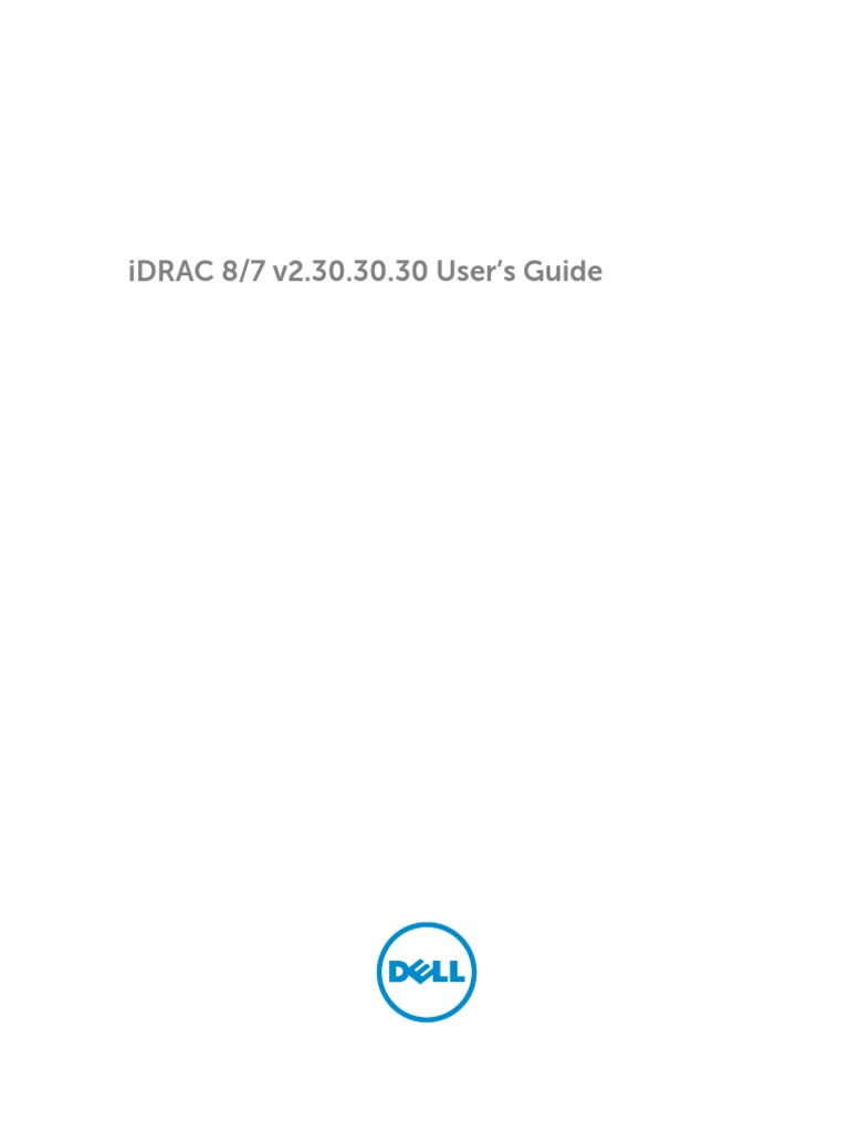 Idrac7 8 Lifecycle Controller v2 30 30 30 User's Guide en Us