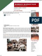 Borongan Bangunan Upah Tukang  2017 _ Harga Material Bangunan bukan pontianak