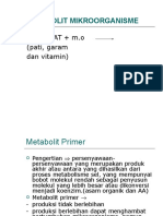 metabolit-mikroorganisme