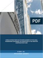 Consultation Paper on the Replacement of the Legal Framework Governing Signed