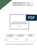 PTS-16-021 - Instalación Sistema Hidraúlico de Piscinas