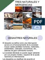 Desastres Naturales y Emergencias Final